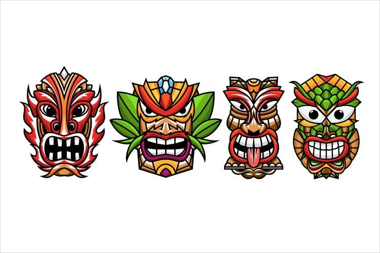 Tiki mask example image 1