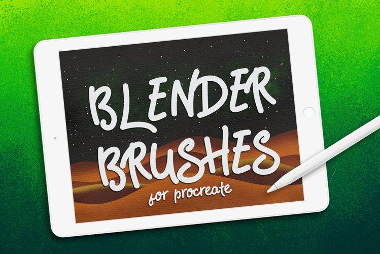 BLENDER BRUSHES FOR PROCREATE example image 1