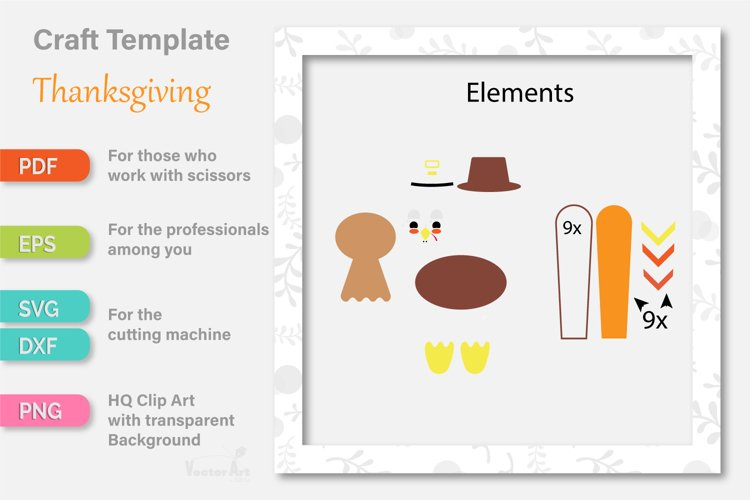 Thanksgiving Turkey - Paper Cut for Crafter example 3