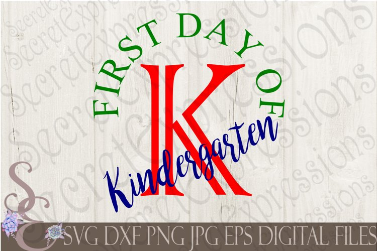 First Day of Kindergarten example image 1