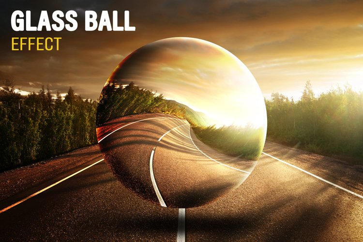 Glass Ball PSD Effect example image 1
