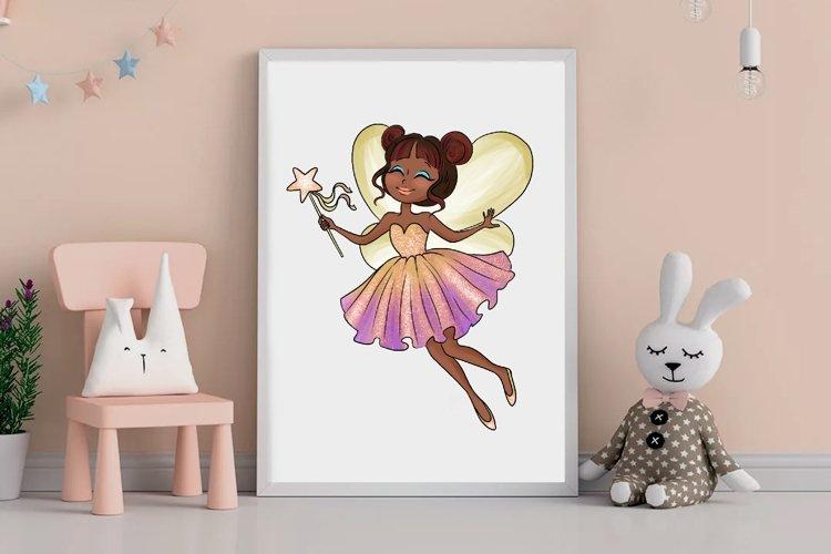 Fairy clipart, Pretty fairies clipart, Watercolor example 5