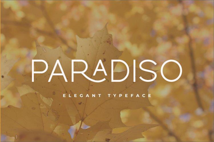 Paradiso Typeface example image 1