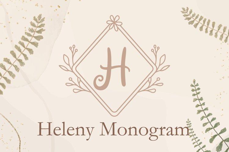 Heleny Monogram