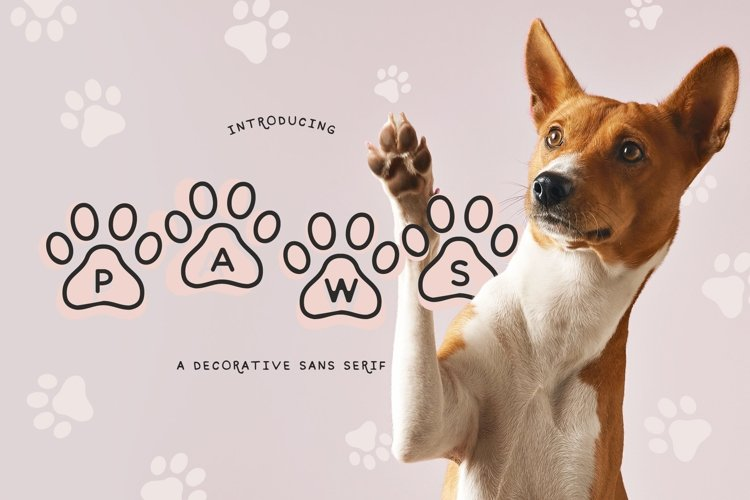 Web Font Paws example image 1
