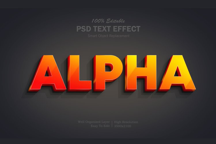 Gradient Alpha Text Effect example image 1