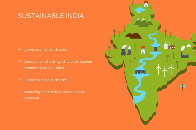 Sustainable India Keynote Template