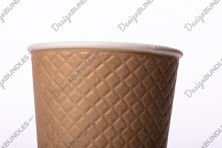 disposable biodegradable paper takeaway cups example image 1