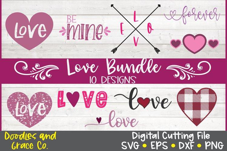 Love Bundle Valentine S Day Bundle Svg Dxf Eps Png 419251 Svgs Design Bundles