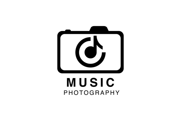 Music and Photo logo design inspiration