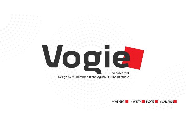 Vogie example image 1