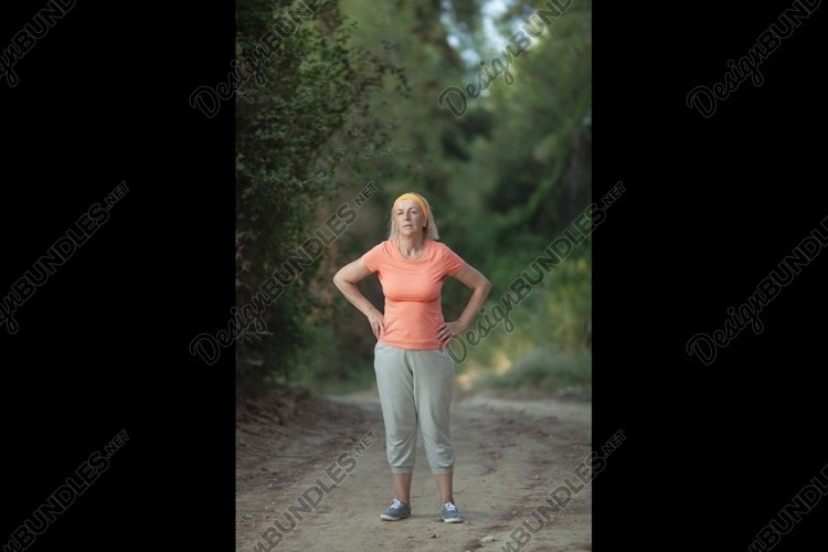 After a jog example image 1
