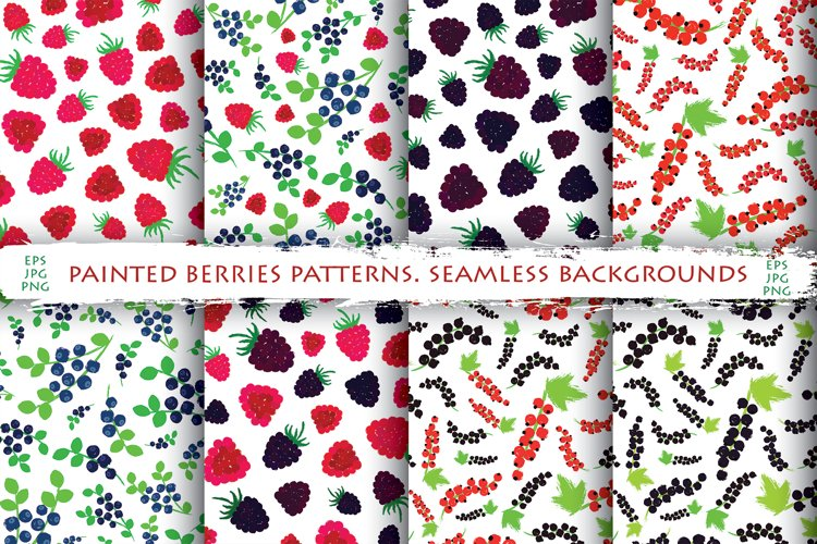Berries Patterns Collection example image 1