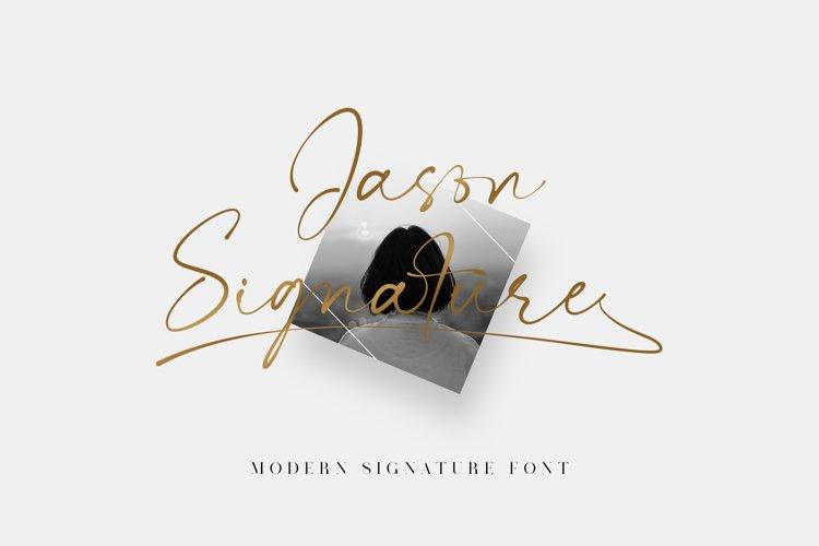 Jason Signature example image 1