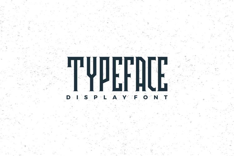 Avriella Display Font example 1