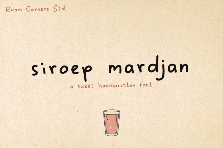 Siroep Mardjan Handwritten example image 1