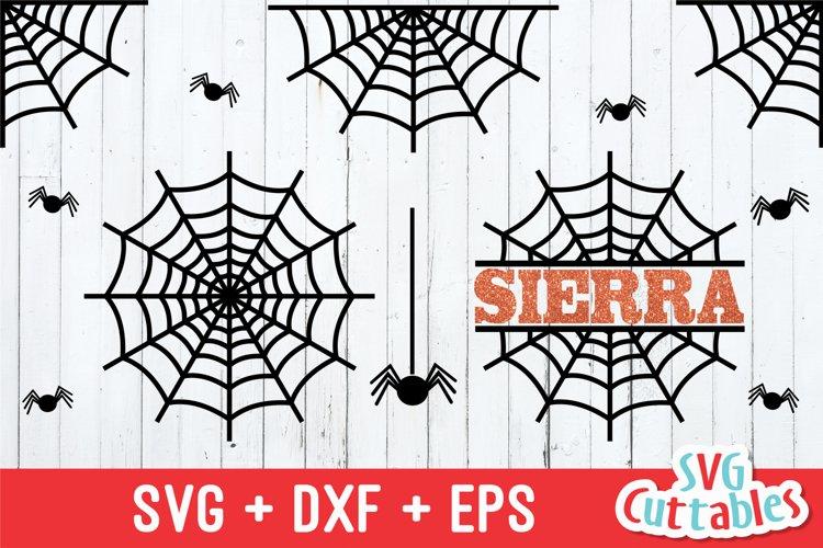 Spider Web SVG | Halloween SVG example image 1