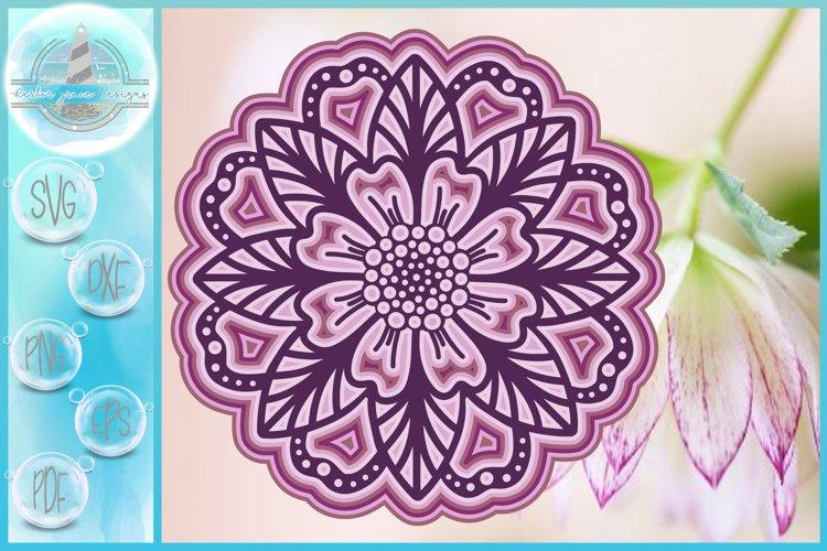 Download 3d Svg Layered Design 3d Flower Mandala 3d Mandala Svg 540018 Cut Files Design Bundles