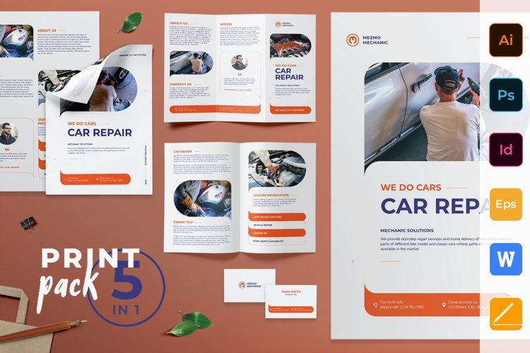 Car Repair Print Pack example image 1