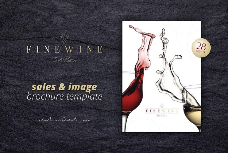 FINE WINE - Sales & Image Brochure