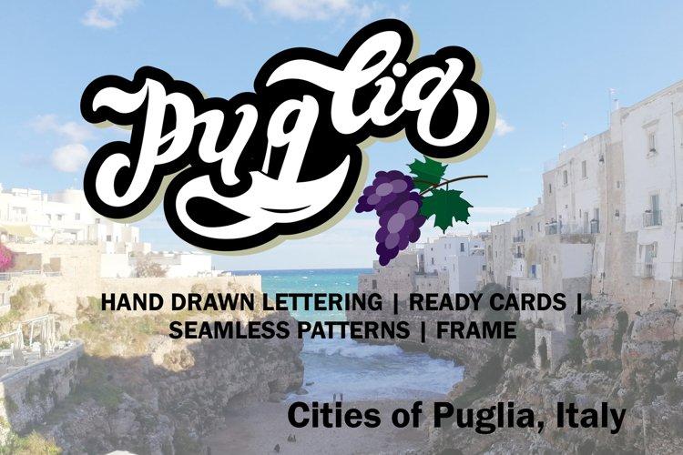 Puglia Set. Puglia Coast. Italy example image 1