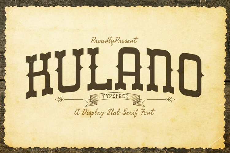 Web Font Kulano example image 1