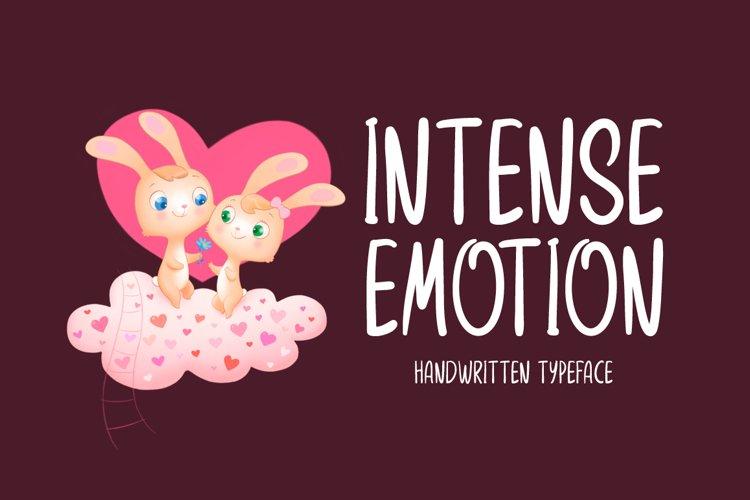 Intense Emotion example image 1