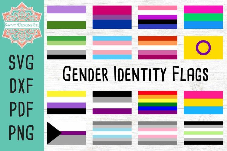 Gender Identity Flag Bundle