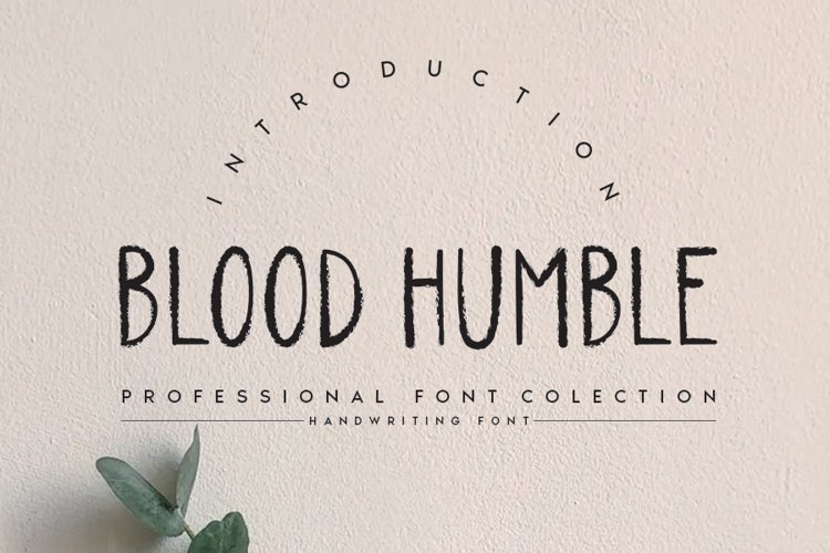 BLOOD HUMBLE example image 1