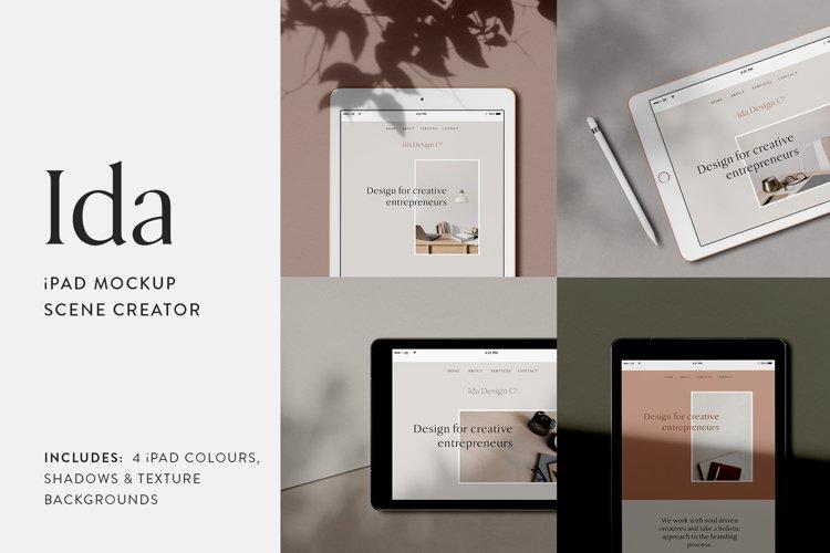 Ida - iPad Mockup Scene Creator example image 1