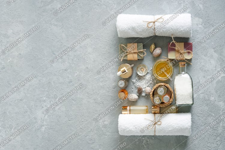 Spa products and natural cosmetics for wellness. example image 1