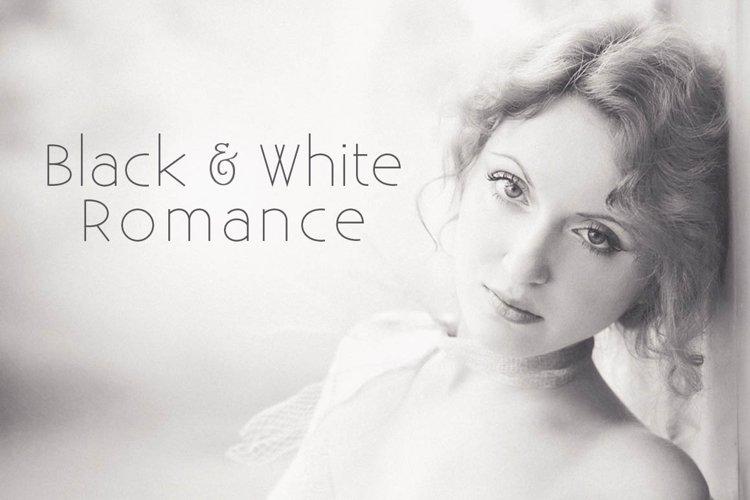 Black & White Romance Lightroom Presets