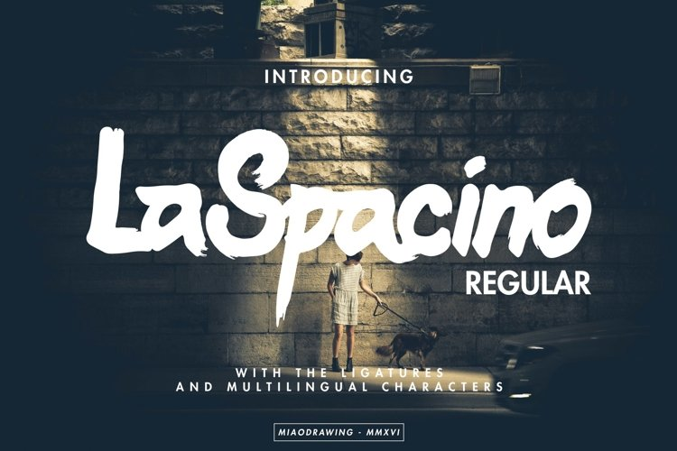 LaSpacino Typeface