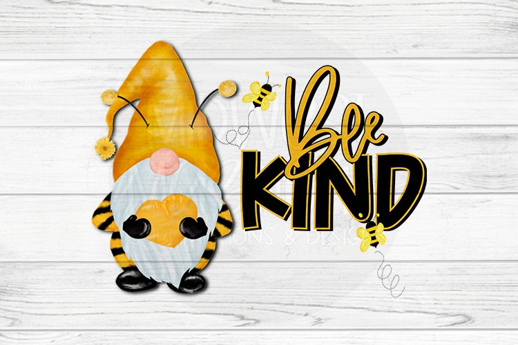 Bee Kind Gnome example image 1