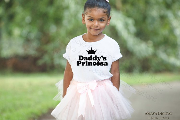 Daddy's Princesa Svg, Cute Quote example image 1