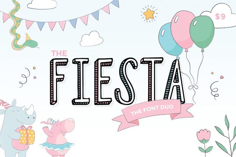 Fiesta Font Duo example image 1