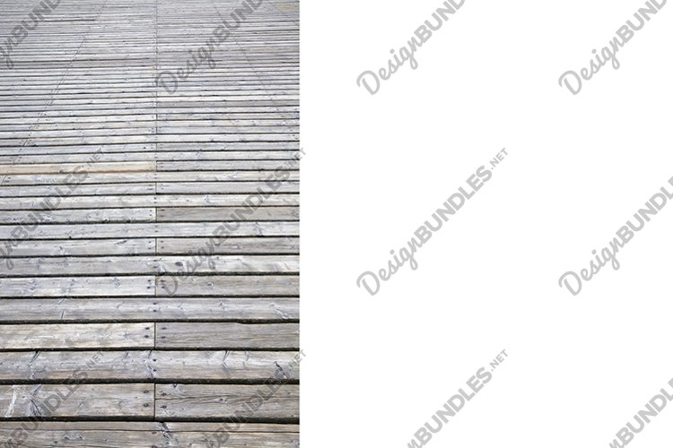 road made of wood example image 1