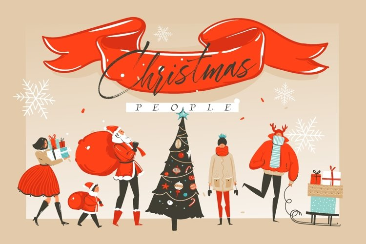 Christmas people example image 1