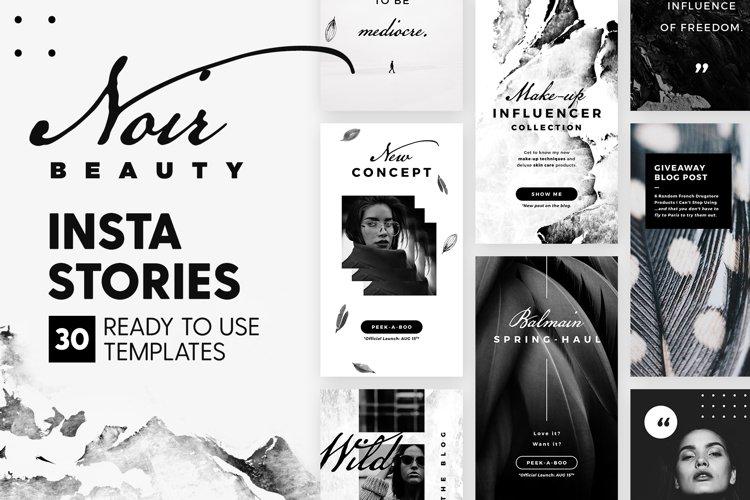 Instagram Stories - Noir Beauty Ed. example image 1