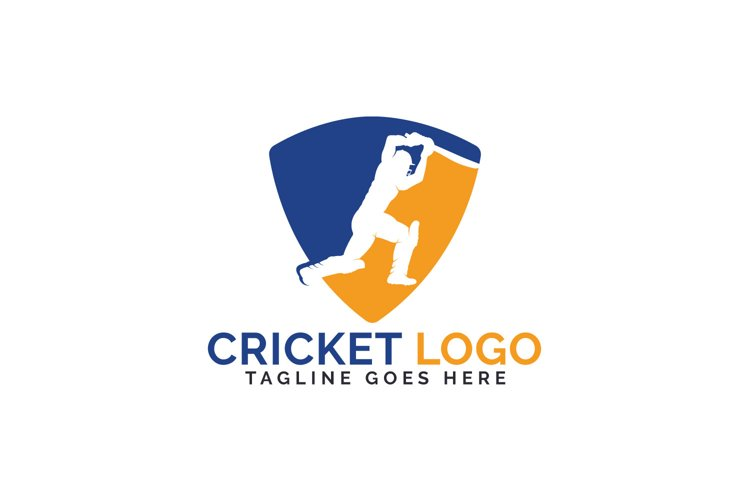 Cricket Logo Design. example image 1