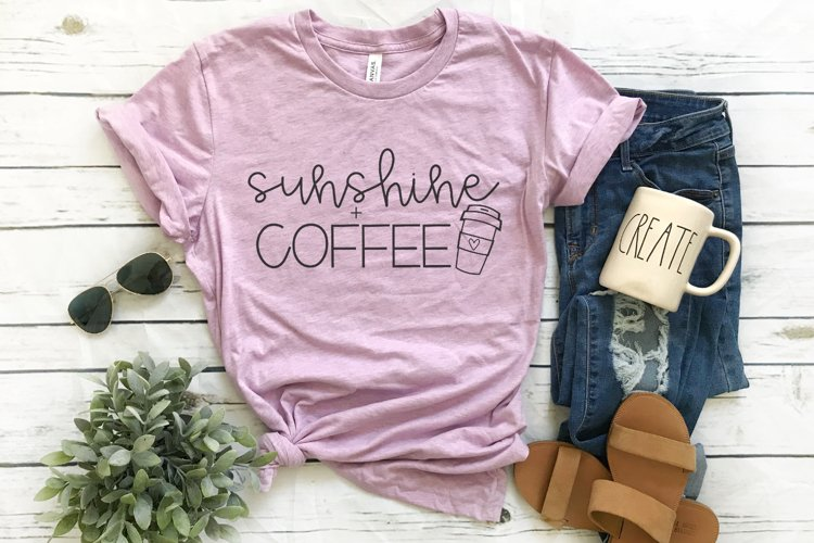 Sunshine And Coffee SVG example image 1