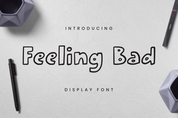 Feeling Bad Font example image 1