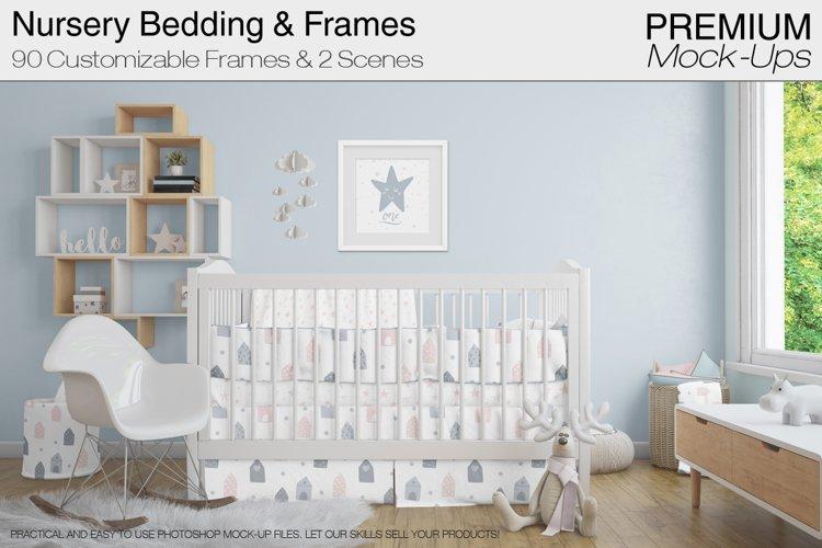 Nursery Beddings & Frames Pack example image 1