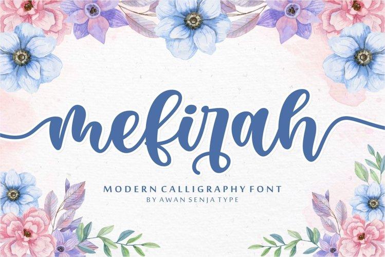 Mefirah - Modern Calligraphy example image 1
