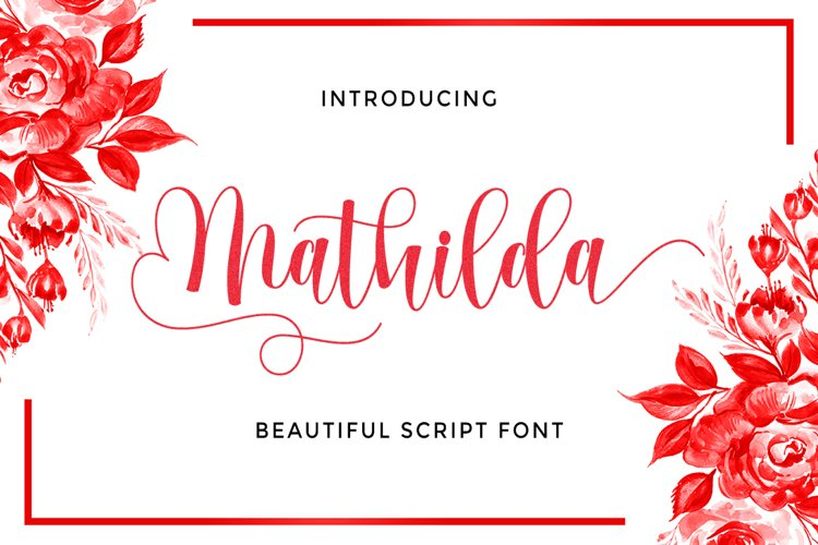 Mathilda Script example image 1