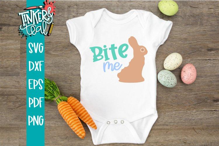 Bite Me Funny Bunny SVG