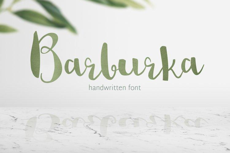 Barburka Font example image 1