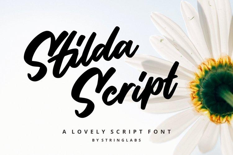 Stilda Script Font example image 1