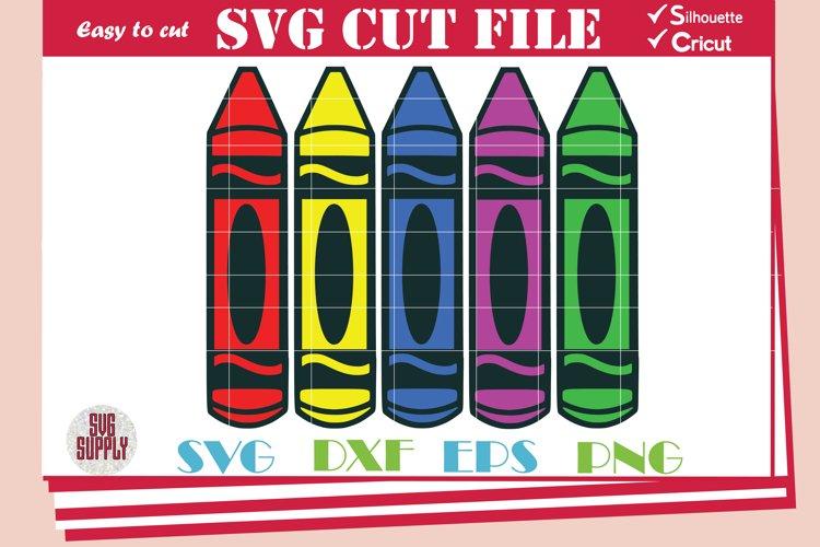 Crayon SVG  Crayons SVG Cut File
