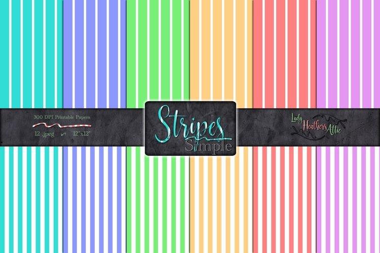 Simply Stripes 12 Piece Set - Set 2